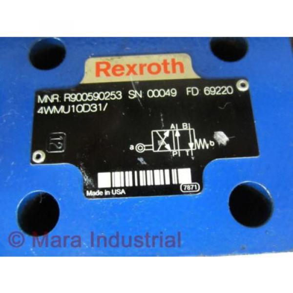 Rexroth India Egypt Bosch R900590253 Valve 4WMU10D31/ - New No Box #2 image