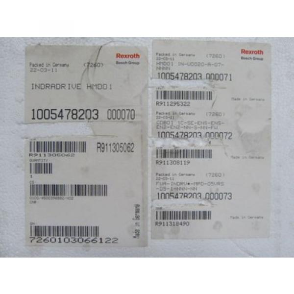 Rexroth Greece Japan HMD01.1N-W0020-A-07-NNNN   Doppelachs - Wechselrichter   > ungebraucht! #2 image