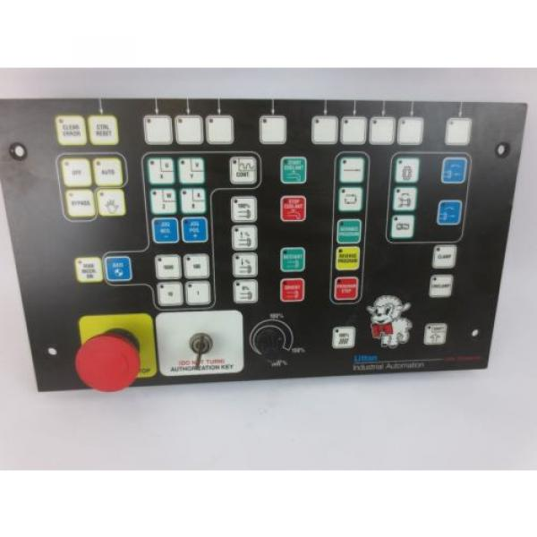 INDRAMAT India Mexico / REXROTH BTM1.01/00 CONTROL PANEL / OPERATOR INTERFACE w/ E-STOP USED #1 image