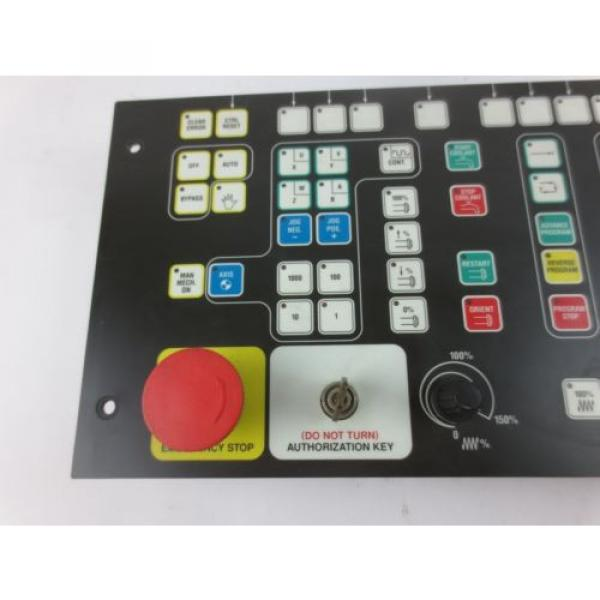 INDRAMAT India Mexico / REXROTH BTM1.01/00 CONTROL PANEL / OPERATOR INTERFACE w/ E-STOP USED #3 image
