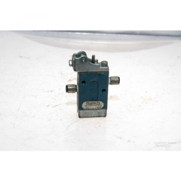 REXROTH GB13003-0955 MINIMASTER ROLLER OPERATED DIRECTIONAL VALVE NO LEVER G52 #1 image