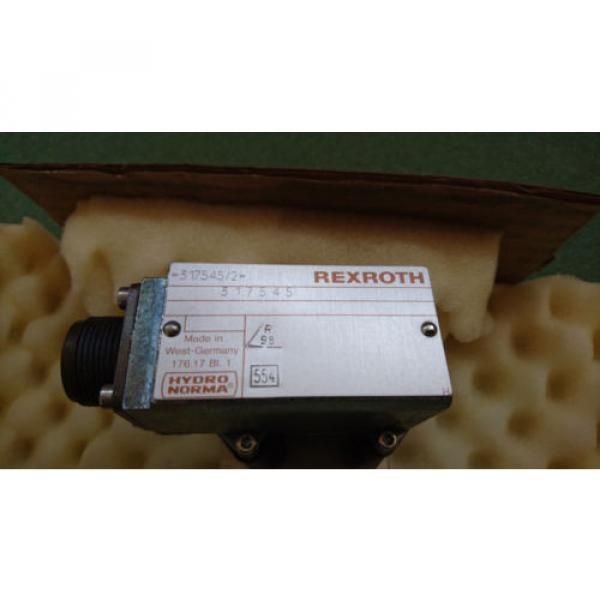Origin REXROTH 317545/2 317545 SERVO VALVE CONTROLLER --- 0% VAT INVOICE--- #2 image