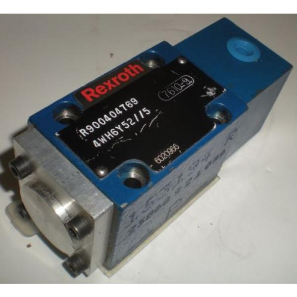 BOSCH REXROTH R900404769 4WH6Y52//5  DIRECTIONAL CONTROL VALVE #1 image