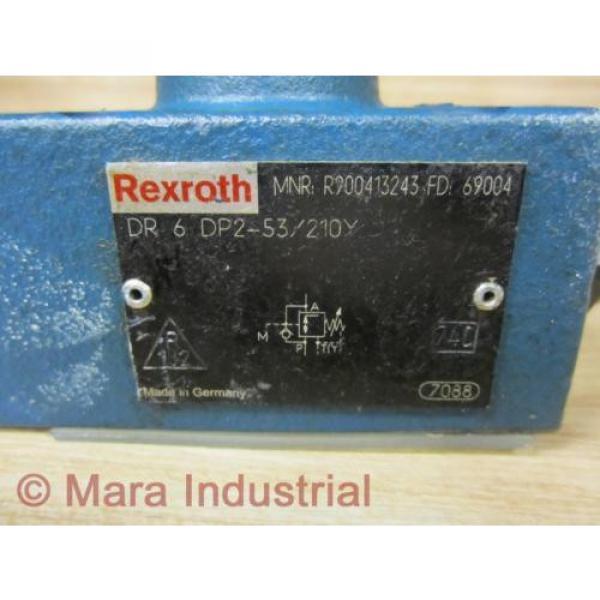 Rexroth Bosch R900413243 Valve DR 6 DP2-53/210Y - origin No Box #4 image