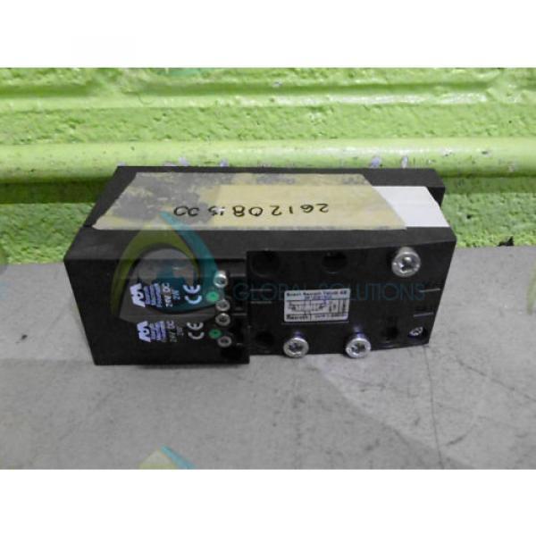 BOSCH REXROTH 2612081300 PNEUMATIC VALVE Origin NO BOX #2 image
