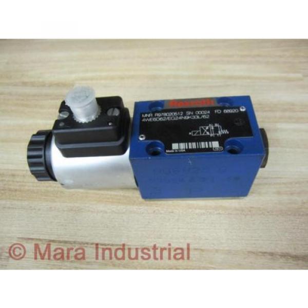 Rexroth Russia Mexico Bosch R978020512 Valve 4WE6D62/EG24N9K33L/62 - New No Box #1 image