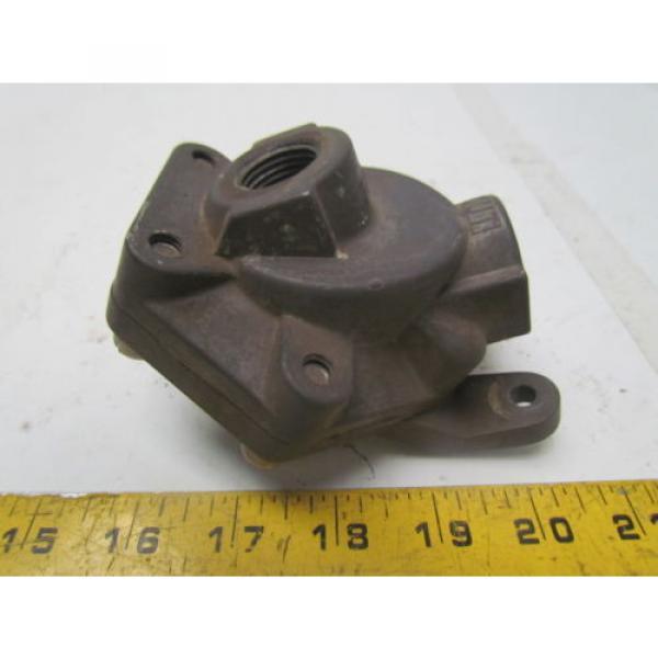 Rexroth P52935-4 Aluminum quick exhaust valve 1/2#034;NPT #4 image