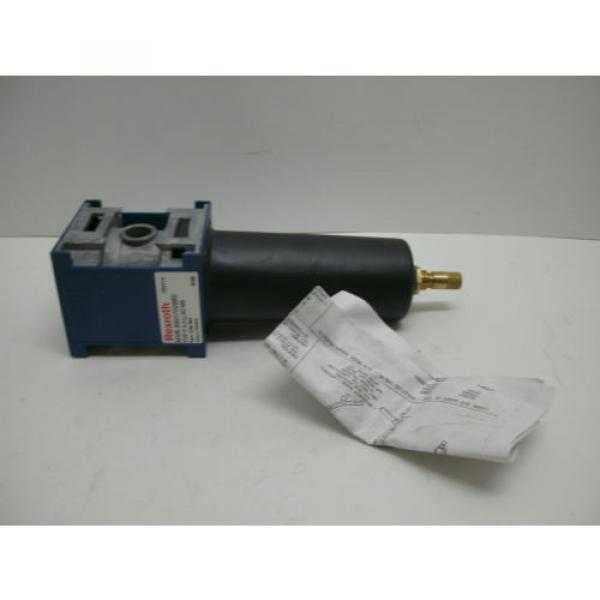 REXROTH Canada Greece BOSCH 8901702880 FILTER UNIT W/MANUAL DRAIN F 0,01U AD MB NEW IN BOX #2 image