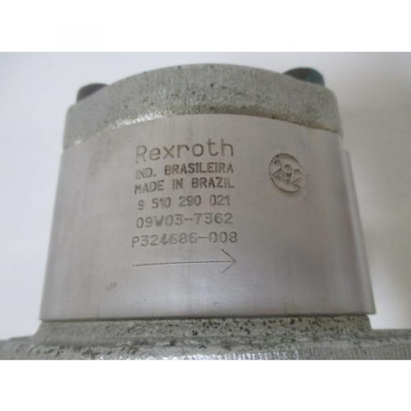 REXROTH Mexico India 9 510 290  021 GEAR PUMP *NEW NO BOX* #4 image