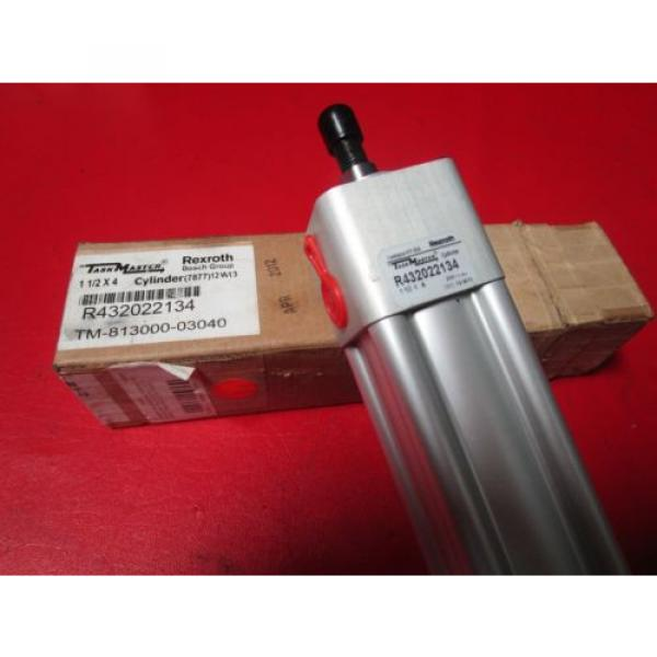 """Rexroth Mexico India TM-813000-03040, 1-1/2x4 Task Master Cylinder, R432022134, 1-1/2"""" Bore #1 image"""