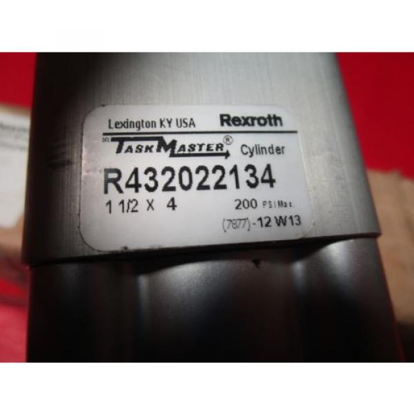 """Rexroth Mexico India TM-813000-03040, 1-1/2x4 Task Master Cylinder, R432022134, 1-1/2"""" Bore #2 image"""