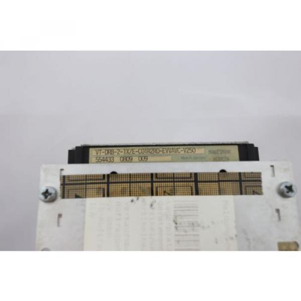 REXROTH Mexico Italy VT-DRB-2-1X/E-C01R2R0-EVVAVC-V250 SYES-E24-A001 - 0% VAT INVOICE - #2 image