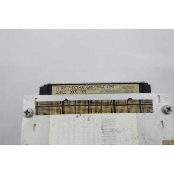 REXROTH Mexico Italy VT-DRB-2-1X/E-C01R2R0-EVVAVC-V250 SYES-E24-A001 - 0% VAT INVOICE - #3 image