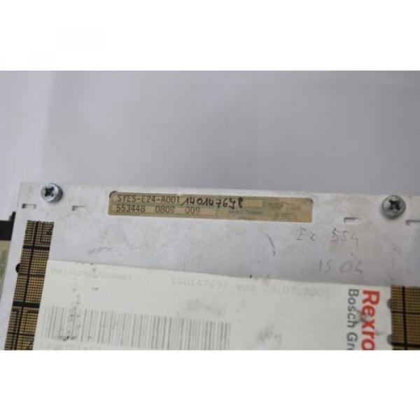 REXROTH Mexico Italy VT-DRB-2-1X/E-C01R2R0-EVVAVC-V250 SYES-E24-A001 - 0% VAT INVOICE - #4 image