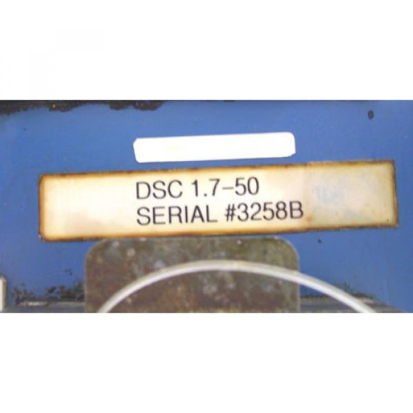 INDRAMAT Singapore Korea REXROTH   SERVO CONTROLLER   DSC 1.7-50   DSC1.7-50   60 Day Warranty! #5 image