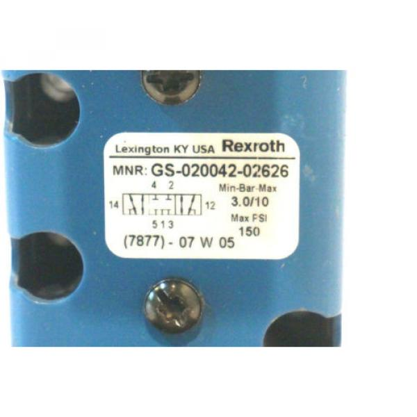 REXROTH Korea Mexico GS-020042-02626 HYDRAULIC VALVE GS02004202626 #2 image