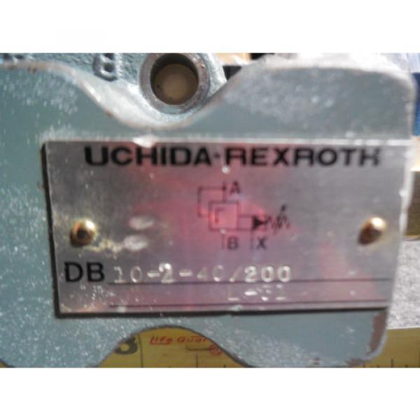 Origin UCHIDA REXROTH RELIEF VALVE # DB10-2-40/200 L-31 #2 image