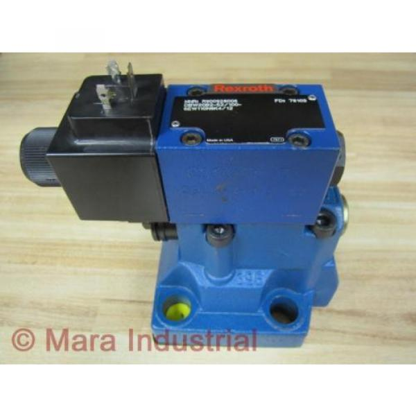 Rexroth Bosch R900928006 Valve DBW20B2-52/100-6EW110N9K4/12 - origin No Box #1 image