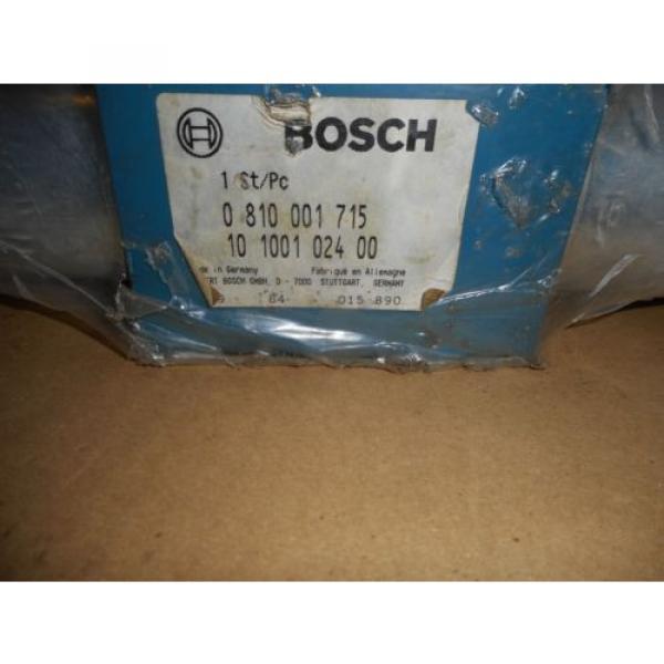 BOSCH 810 001 715 CONTROL VALVE #2 image
