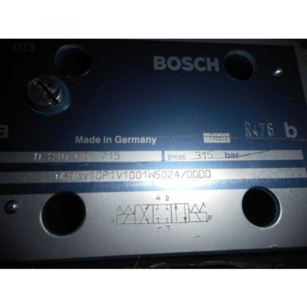 BOSCH 810 001 715 CONTROL VALVE #3 image
