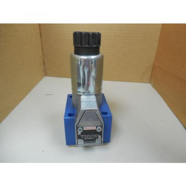 Origin REXROTH POPPET VALVE R900203763 COIL R901104847AS 88716 24VDC 125A 125 AMP A #1 image