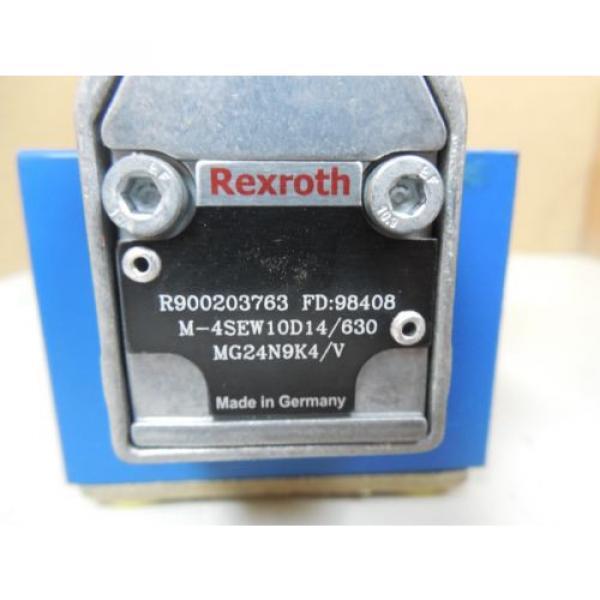 Origin REXROTH POPPET VALVE R900203763 COIL R901104847AS 88716 24VDC 125A 125 AMP A #2 image