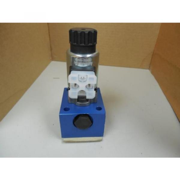 Origin REXROTH POPPET VALVE R900203763 COIL R901104847AS 88716 24VDC 125A 125 AMP A #4 image
