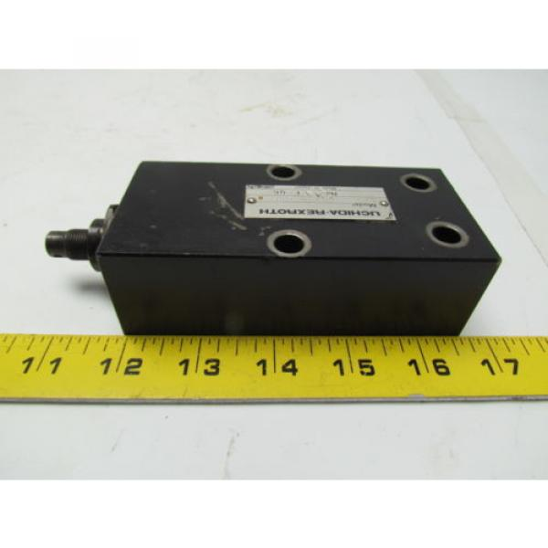 UCHIDA-Rexroth DA10-2-A0/80-998-0 Hydraulic pressure valve #3 image