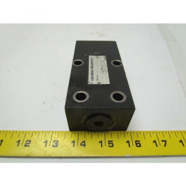 UCHIDA-Rexroth DA10-2-A0/80-998-0 Hydraulic pressure valve #4 image