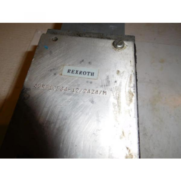 Rexroth 4WRE10E64-12/24Z4/M Hydraulic Proportional Valve D05 #2 image